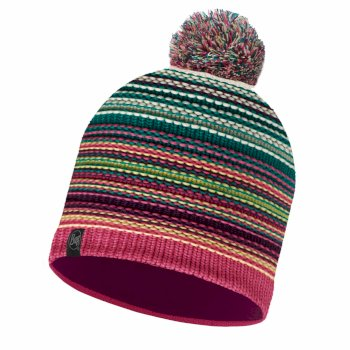 Buff Knit Polar Fleece Hat - Neper Magenta