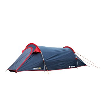 Regatta Halin 2-Man Backpacking Tent - Grey Red
