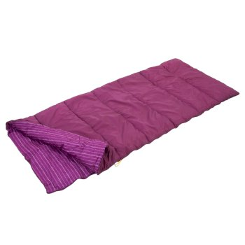 Regatta Maui Polyester Lined Single Sleeping Bag - Azalea