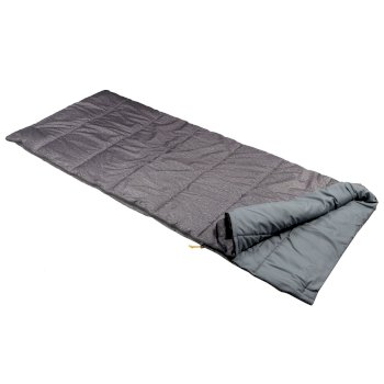 Regatta Maui Polyester Lined Single Sleeping Bag - Grey Marl