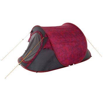 Regatta Malawi 2-Man Pop Up Festival Tent Pink Tropical