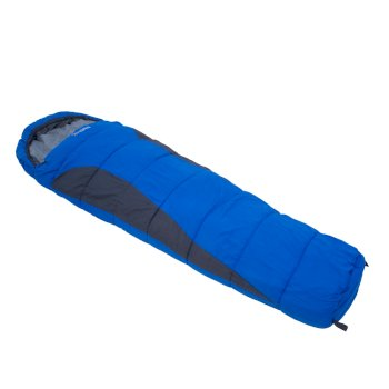 Regatta Hilo 200 Lined Ripstop Mummy Sleeping Bag - Oxford Blue