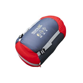 Regatta Hilo 300 Double Layer Lined Ripstop Mummy Sleeping Bag - Pepper Red