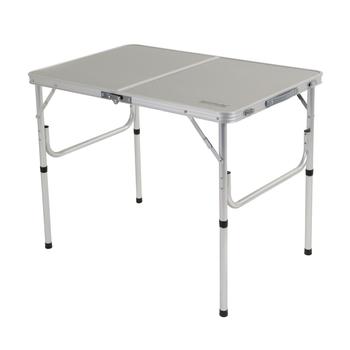 Regatta Cena Lightweight Bi-Folding Table Lead - Grey