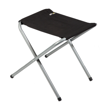 Regatta Marcos Lightweight Folding Camping Stool - Black Seal Grey