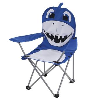 Animal leichter Camping-Klappstuhl für Kinder Blau