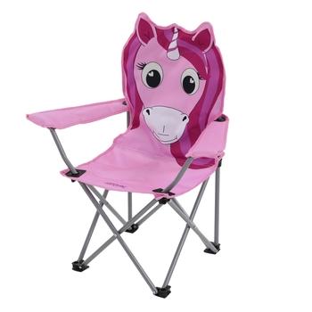 Animal leichter Camping-Klappstuhl für Kinder Rosa
