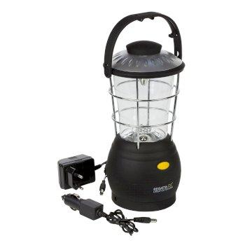 Regatta Helia 12 LED Dynamo Lantern Camping Lamp - Black