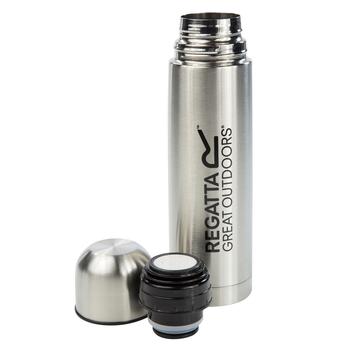 Regatta 0.5 Litre Vacuum Camping Flask Silver
