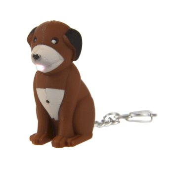 Regatta Animal Torch Keyring - Dog Brown