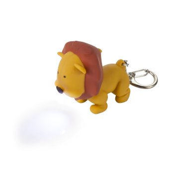 Regatta Animal Torch Keyring - Lion Tan