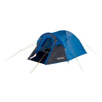 Regatta Kivu 2 Man Dome Tent - Oxford Blue Seal Grey