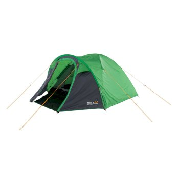Regatta Kivu 3 Man Dome Tent - Extreme Green Seal Grey