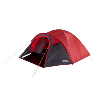 Regatta Kivu 4 Man V2 Dome Tent - Pepper Seal Grey