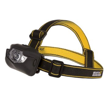 Regatta Cree 5 LED Strong Durable Headtorch Black