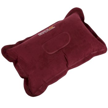 Regatta Inflatable Soft Touch Pillow - Burgundy