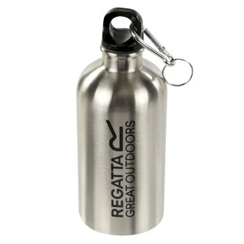 Regatta 0.5l Steel Water Bottle Silver
