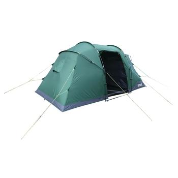 Regatta Kivu 4-Man Vis-a-Vis Tent - Green Pasture