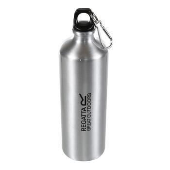 Aluminiumflasche - 1 l Silber