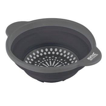 Regatta Silicon Colander - Ebony Grey