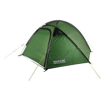 Montegra Geo Backpacking-Zelt, 3 Personen Grün