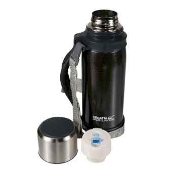 Regatta 1.2L Vacuum Flask - Black