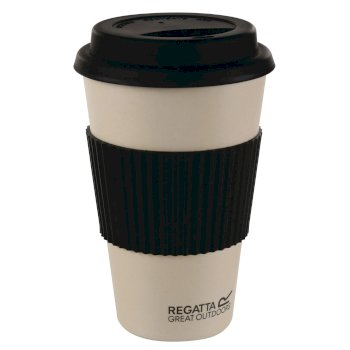 Regatta Bamboo Commuter Travel Mug Flask - Bamboo Black