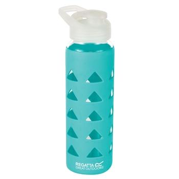 Regatta 700ml Glass Bottle With Silicon Grip - Ceramic