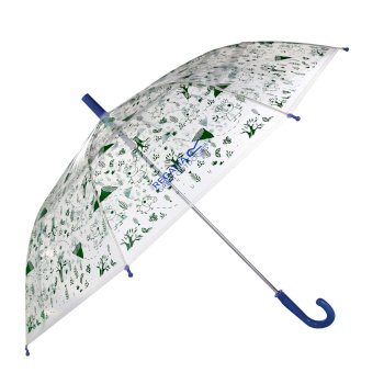 Peppa Wutz Regenschirm Blau