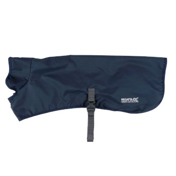 Packaway wasserdichter Hundemantel Blau