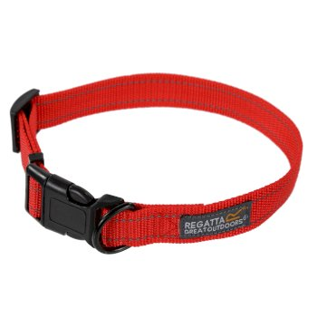 Regatta Comfort Hardwearing Dog Collar 45-70cm - Red