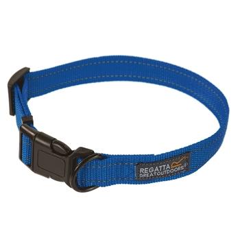 Komfortables, robustes Hundehalsband, 45-70 cm Blau