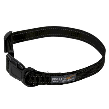 Comfort Hardwearing Dog Collar Black