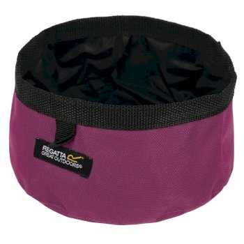 Regatta Pack Away Waterproof Dog Bowl Azalea