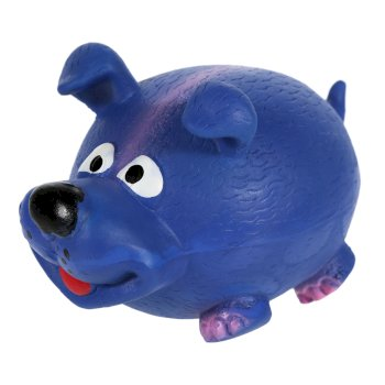 Regatta Latex Squeaker - Blue Dog