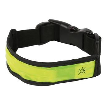 LED-Hundehalsband Gelb