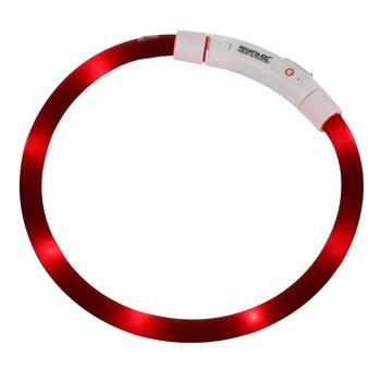 LED-Hundehalsband Rot