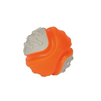 Kauball für Hunde Orange