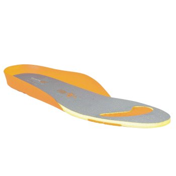 Men's Comfort Footbed Grey Orange