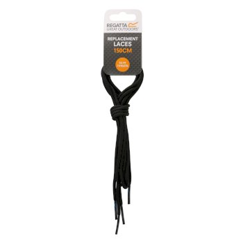Regatta Replacement Laces 150cm - Black Grey Pluto