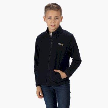 Kids' King II Lightweight Full Zip Fleece Navy