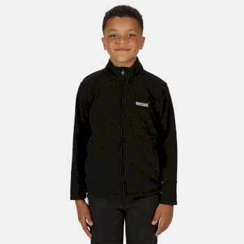 Regatta Kids' King II Lightweight Full Zip Fleece - Black