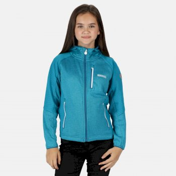 Regatta Kids' King II Lightweight Full Zip Fleece - Dark Cerise