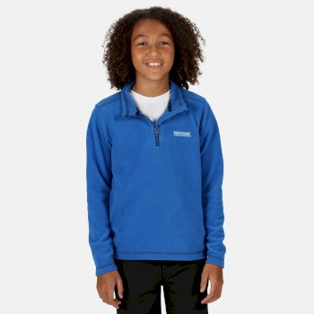 Regatta Kids' Hot Shot II Lightweight Half Zip Fleece Oxford Blue Navy