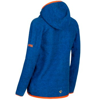 Regatta Totten Full Zip Hooded Fleece Oxford Blue