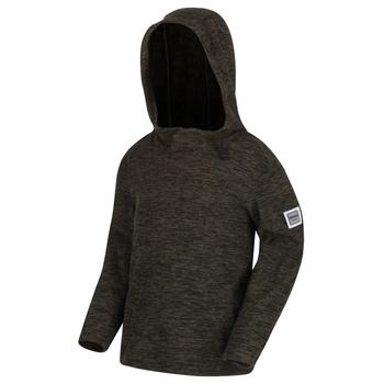 Keyon Fleece mit Kapuze für Kinder dunkles Khaki