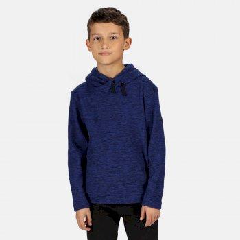 Keyon Fleece mit Kapuze für Kinder Blau