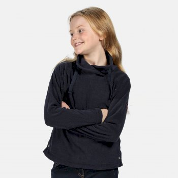 Regatta Kids' Harika Funnel Neck Fleece - Navy