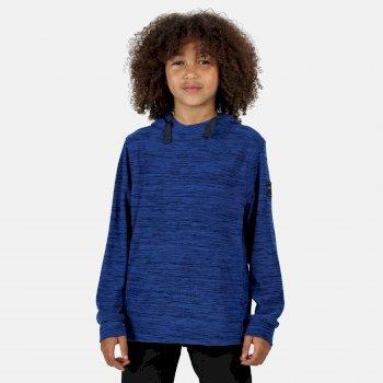 Kade leichtes Kapuzenfleece für Kinder Blau