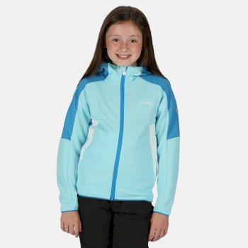 Jenning Walkingfleece mit durchgehendem Reißverschluss für Kinder Blau